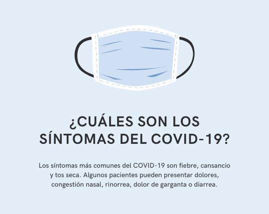 Azul Claro Preguntas Frecuentes sobre COVID-19 Información General Publicación de Facebook (2)