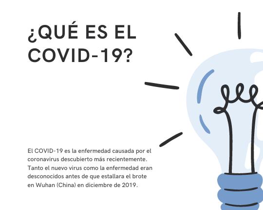 Azul Claro Preguntas Frecuentes sobre COVID-19 Información General Publicación de Facebook